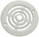 Grilles de ventilation plastique ronde