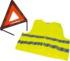 Kit triangle de signalisation avec gilet