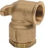 Applique filetee a serrage exterieur - Pour tube polyethylene - Laiton - Femelle